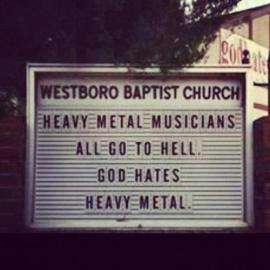 Westboro God Hates Metal