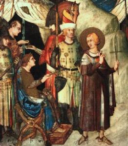 Η αποκήρυξη του σπαθιού του από τον Άγ. Μαρτίνο(ζωγραφικό έργο του Simone Martini)